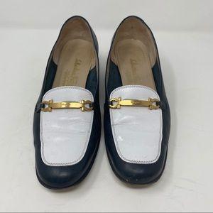Salvatore Ferragamo Horsebit Loafers Blue Size 7
